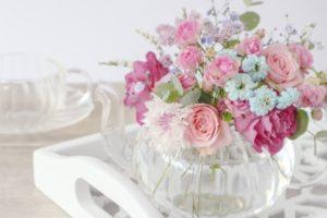 花瓶にさした花